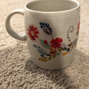 Anthropologie Kitchen - Anthropologie Petal Palette Monogram E Coffee Mug